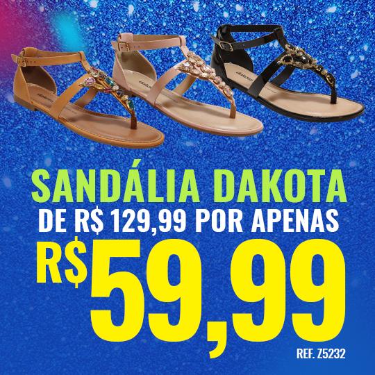 Carnaval - Sandália Dakota
