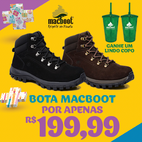 BOTA MACBOOT C/ COPO