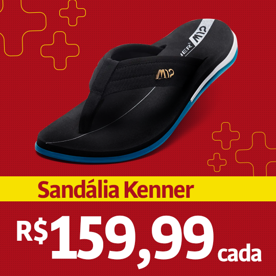 Sandália Kenner - Institucional